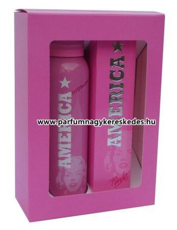 America Pink parfüm szett EDT 50ml + dezodor 150ml