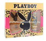 Playboy Play It Wild Ajándékcsomag 90ml EDT+ 150ml Dezodor