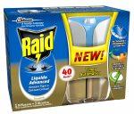 Raid Elektromos Szúnyogriasztó Készülék + Utántöltő 33ml