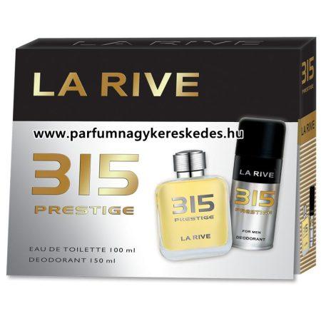 La Rive 315 Prestige ajándékcsomag