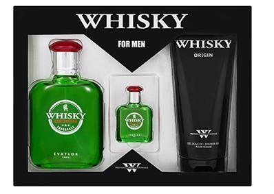 Evaflor Whisky Origin ajándékcsomag 3db-os