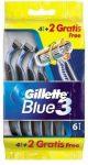 Gillette Blue3 eldobható borotva 6db-os