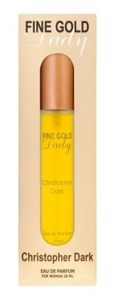 Christopher Dark Fine Gold Lady EDP 20ml