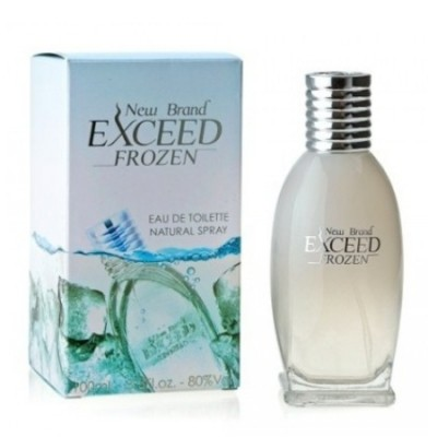 New Brand Exceed Frozen Men EDT 100ml