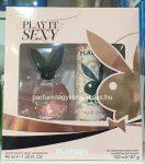 Playboy Play It Sexy ajándékcsomag ( EDT 40ml + dezodor 150ml )