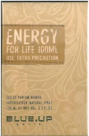 Blue Up Energy For Women EDP 100ml