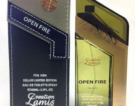 Creation Lamis Open Fire Deluxe EDT 100ml