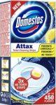 Domestos Attax  Lemon Fresh WC Tisztító Öntapadós Csík 3x10gr
