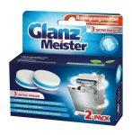 Glanz Meister mosogatógép tisztító tabletta 2db