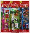 Colgate Kids 2+ Extra Soft fogkefe + fejvédő tartó