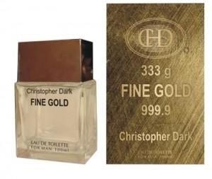 Christopher Dark Fine Gold parfüm EDT 100ml