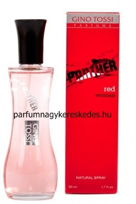 Gino Tossi Panther Red woman parfüm EDT 50ml