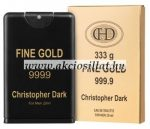 Christopher Dark Fine Gold Men EDT 20ml