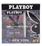 Playboy New York Ajándékcsomag (100ml EDT+150ml Dezodor)