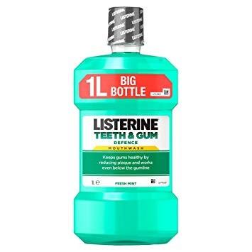 Listerine Teeth & Gum Szájvíz Clean Mint 1L