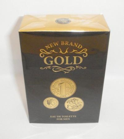 New Brand Gold Men EDT 100 ml
