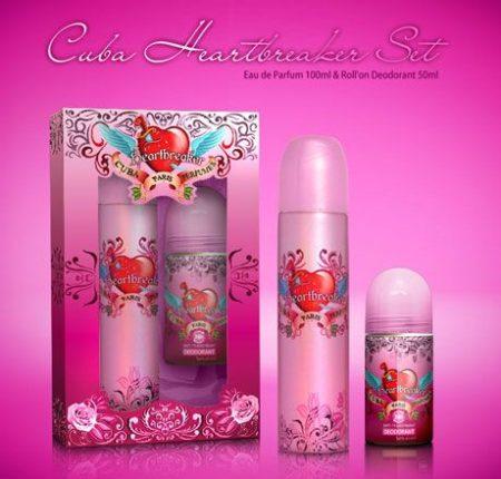Cuba Heartbreaker ajándékcsomag (edt+deo)