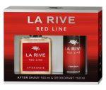 La Rive Red Line Men ajándékcsomag (after+deo)