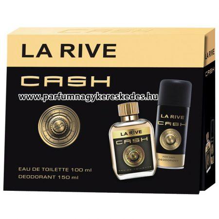 La Rive Cash Men ajándékcsomag