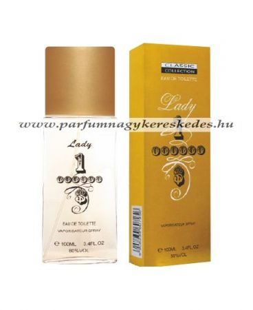 Classic Collection Lady Million parfüm EDT 100ml