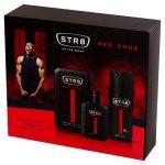 STR8 Red Code Ajándékcsomag (EDT 100ml+Dezodor 150ml)