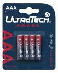 UltraTech Power AAA LR6 Alkáli Ceruzaelem 4db