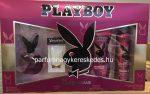Playboy Queen Of The Game ajándékcsomag ( EDT 60ml + 250ml tusfürdő + dezodor 150ml )