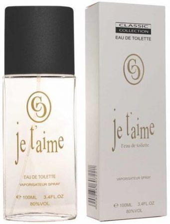 Classic Collection Je t'aime parfüm EDT 100ml