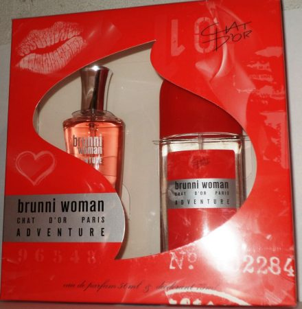 Chat D'or - Brunni Adventure women EDP 50ml + DNS (ajándék szett)