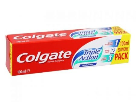 Colgate Triple Action fogkrém 100ml