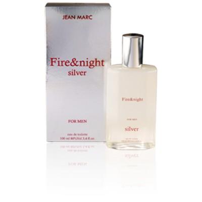 Jean Marc Fire & Night Silver parfüm EDT 100ml