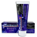 Blend-a-med 3D White Luxe With Active Carbon fogkrém 75ml