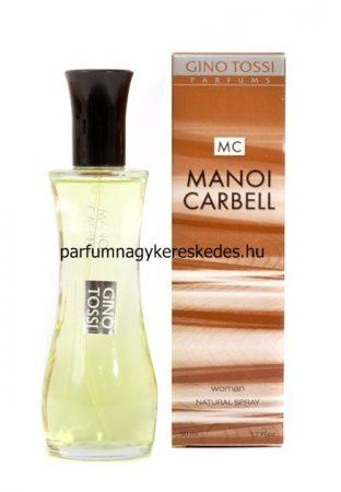 Gino Tossi Manoi Carbell parfüm EDT 50ml