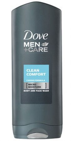 Dove Men+Care Clean Comfort tusfürdő 400ml