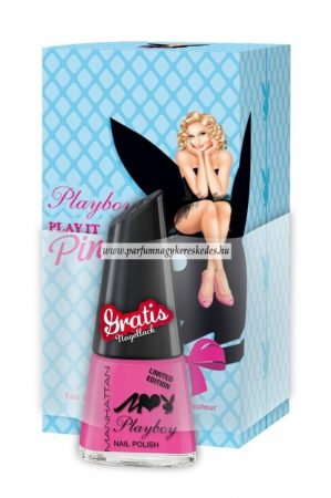 Playboy Play It Pin Up parfüm EDT 30ml + Playboy körömlakk