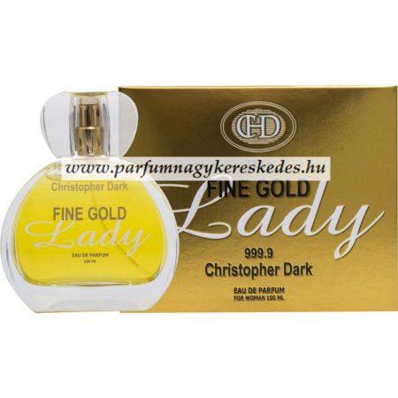 Christopher Dark Fine Gold Lady EDP 100ml