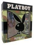 Playboy Play It Wild For Him Ajándékcsomag (100ml EDT+150ml Dezodor)