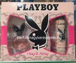 Playboy Play It Sexy ajándékcsomag ( EDT 40ml + tusfürdő 250ml + dezodor 150ml )